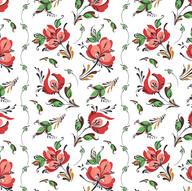 Rosemaling - Folk Florals