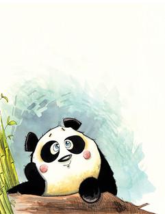 Daydreaming Panda  (Jungle Collection)