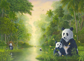 The Bamboo River (Bear Collection)