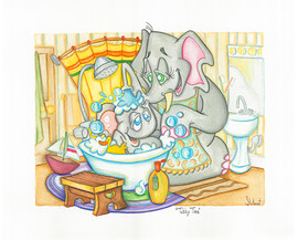 Tubby Time for Elephant  (Jungle Collect