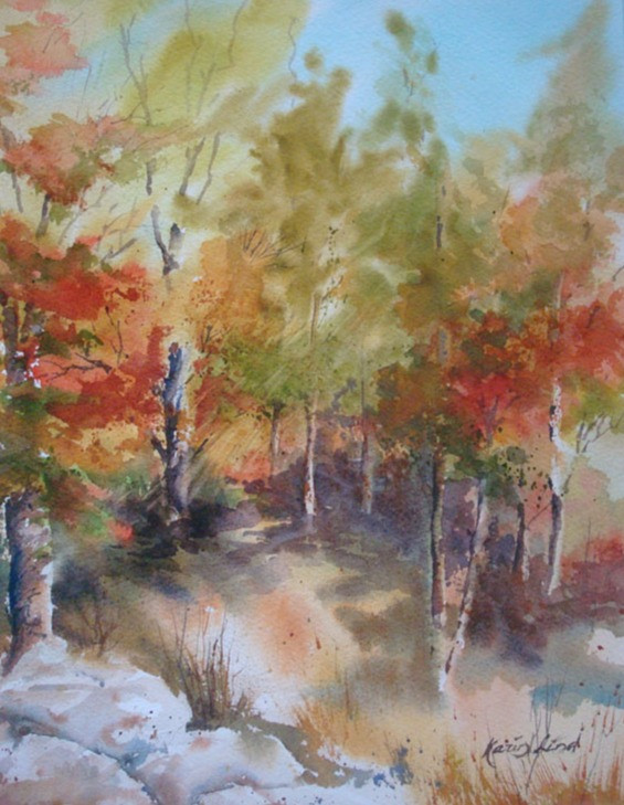 Fall Watercolor (K53)