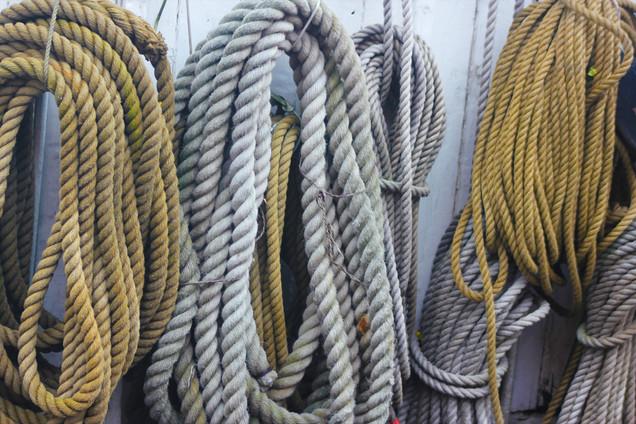 Sailing Boat Ropes