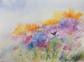 Rainbow - Abstract Watercolors