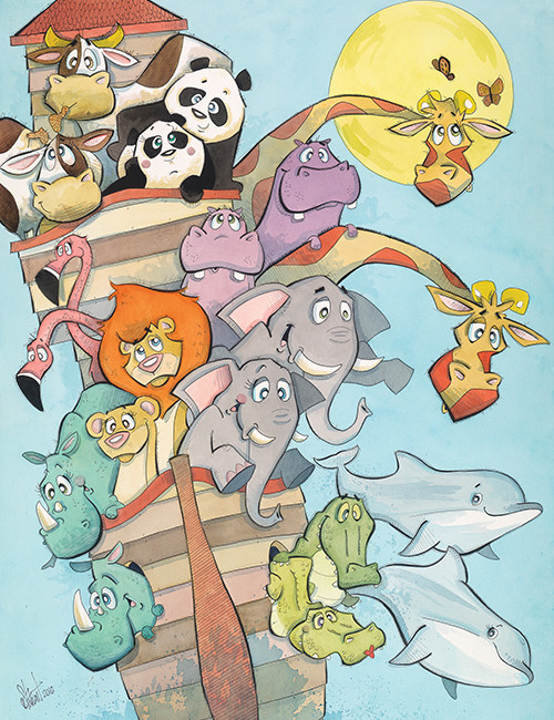 Noah's Ark (Jungle Collection)