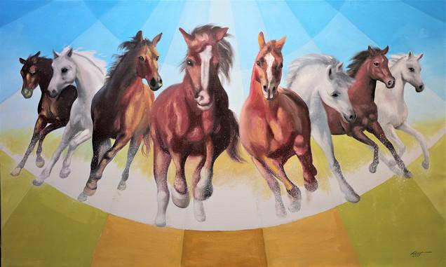 N-10 HORSES 36x60 wildlife.jpg