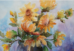 Yellow Sunflowers (K40)