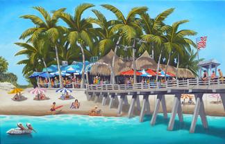 Sharkys Beach Cafe Venice Florida