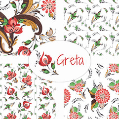 Rosemaling - Greta