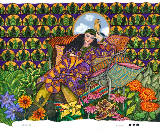 Nesting (Pioneer Series, Women)
