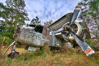 Tracker One_ - Airplane Graveyard - St.
