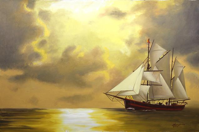 M-391-HR-CLIPPER SHIP.JPG