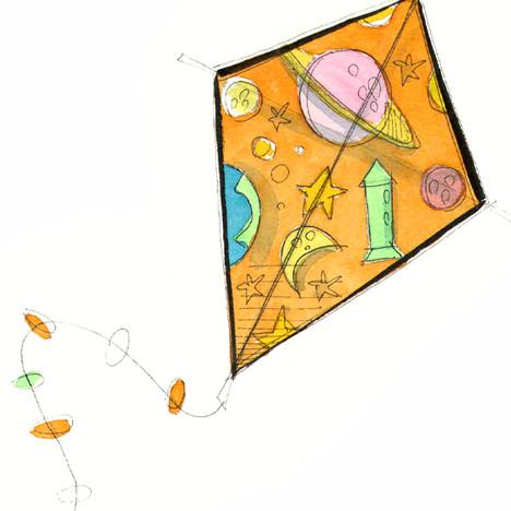 Planets Kite