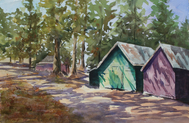 Cabins in the Woods Maine (K39)