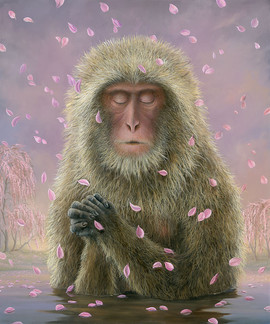 Prayer (Other Animals - Snow Monkey)