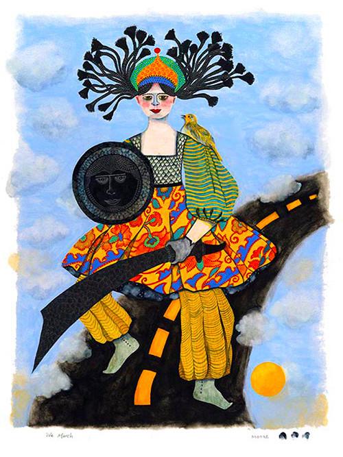 We March - (Pioneer Series, Women)