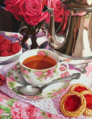Tea With Strawberry Cookies.jpg