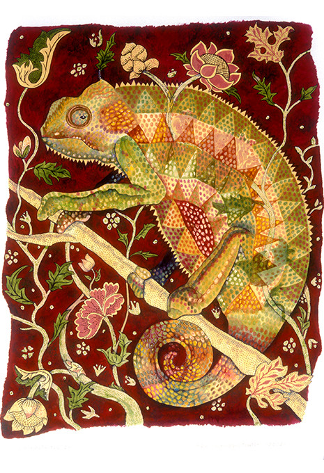 Exhibitionist (Reptile Series - Chameleo