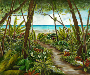 Path to Paradise - Tropical Plants