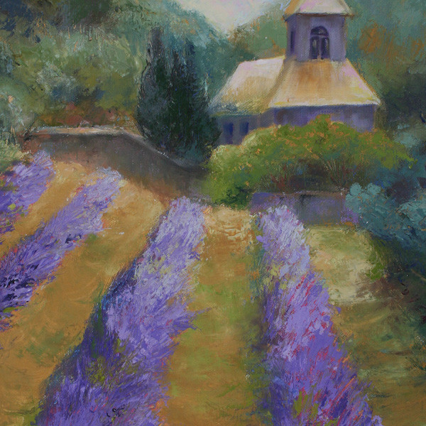 Senanque Abbey France Lavender Field (K1