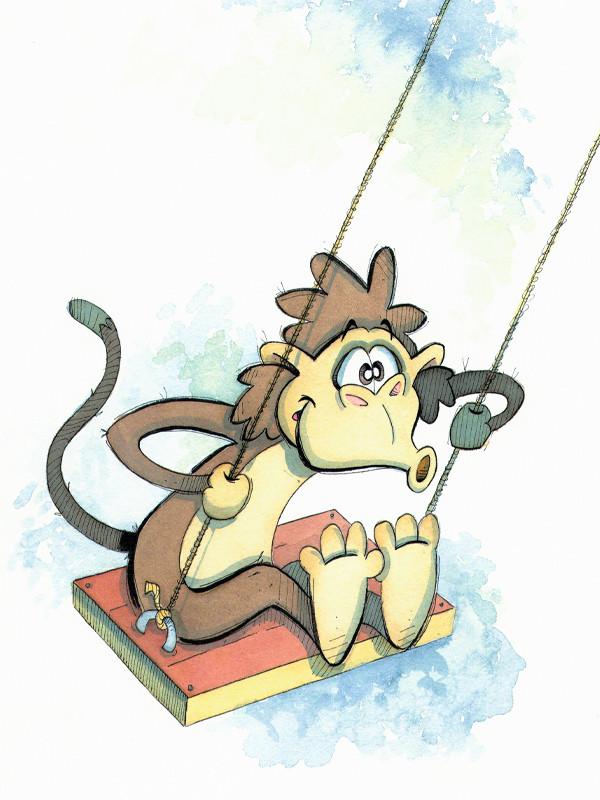 Swinging Monkey (Jungle Collection)