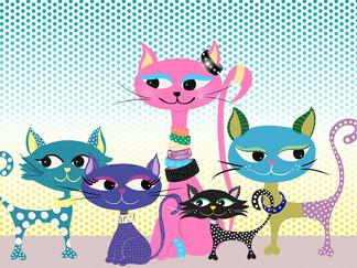 5 Kitties