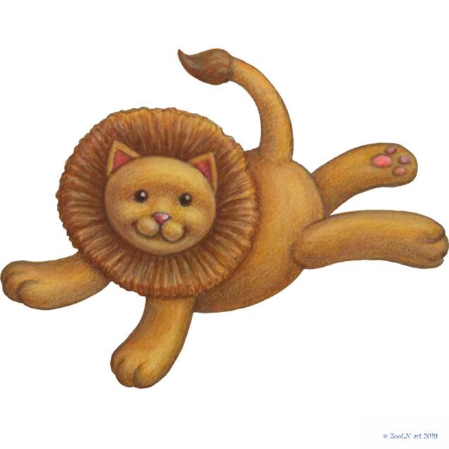 Stuffed Toy Flying Lion.jpg