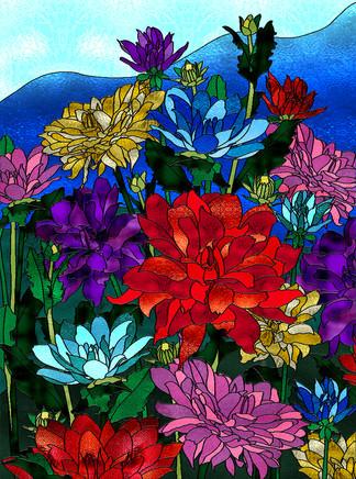 Dahlias-stained glass.jpg