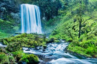 Veiled Falls Columbia River Gorge Oregon