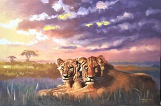 L-166-Two Lions.jpg