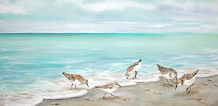 Surfside Dining - Sandpipers on Beach