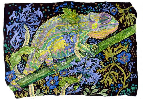 Secret (Reptile Series - Chameleon)