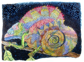 Passion Printed - (Reptile Series - Cham