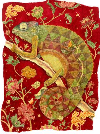 Chameleon with Flowers.jpg