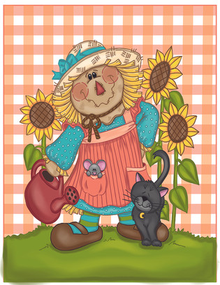 girl scarecrow with watering can-01.jpg