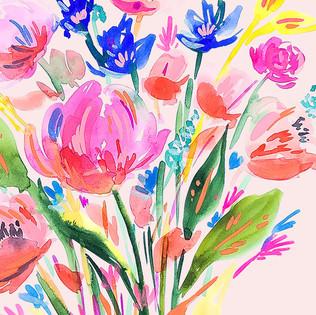 Loose Bouquet Florals