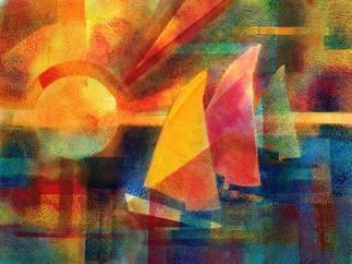 Abstract Sailboats (K66)