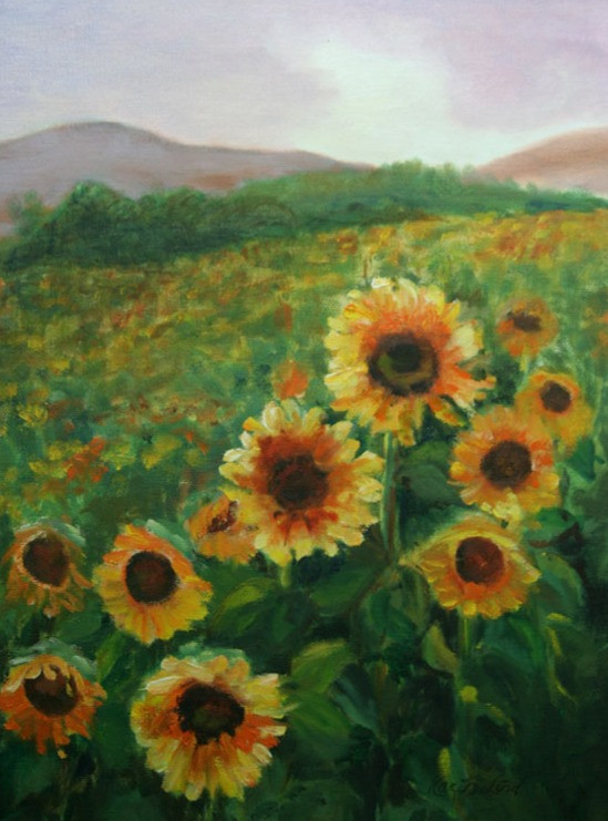 Field of Sunflowers (K64)