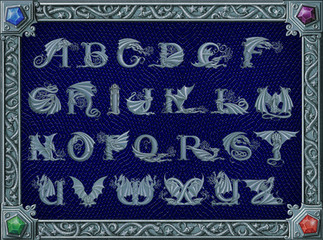 Dracoserific Alphabet-Silver-B.jpg