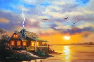 M-336-Cabin Sunset.jpg