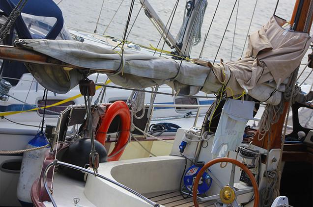 Sailboat Docked