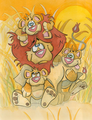 Pride - Lions (Jungle Collection)