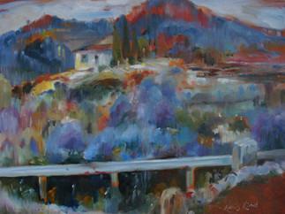 Landscape in Spain (K61)