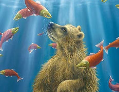 The Swimmer (Bear Collection)