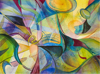 Abstract Symphony of Colors (K72)