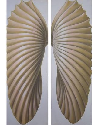 Gold Wings - Seashell