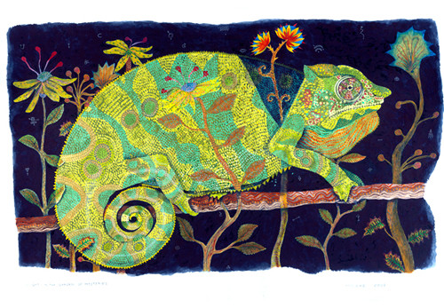 Night in the Garden of Mysteries (Reptil