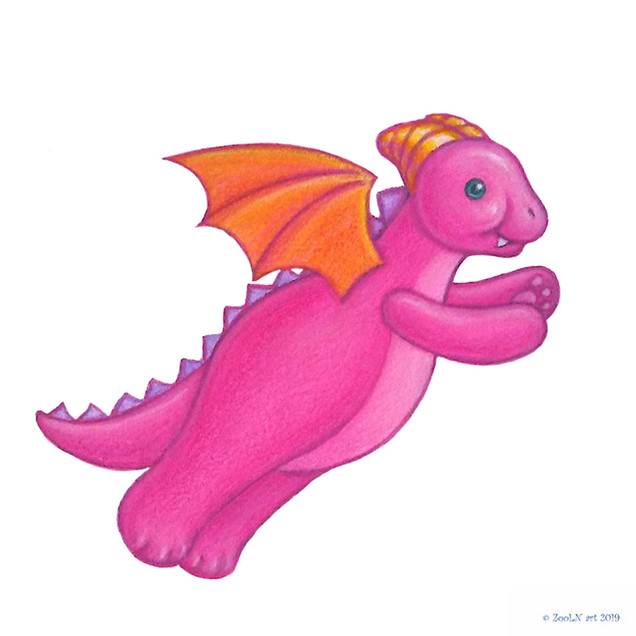 Stuffed Toy Pink Dragon.jpg