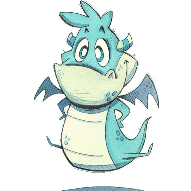 Cute Dragon Jumping.jpg