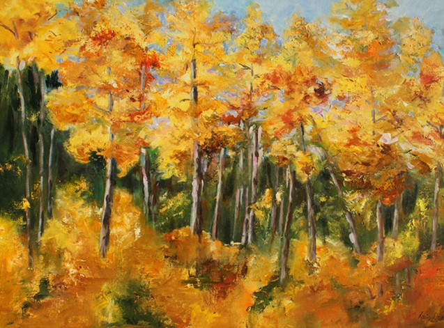 Autumn Trees (K76)