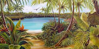 Blue Lagoon - Tropical